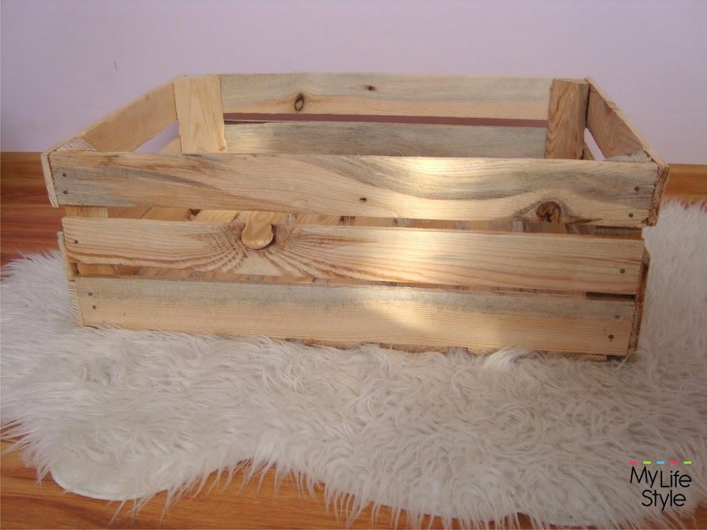 DIY - Drewniana skrzynia